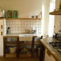 Keuken 6 persoon appartement Vakantie Meerlo