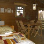 Binnenkant hut