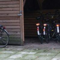 Vakantie Meerlo fietsenstalling met oplaadpunten