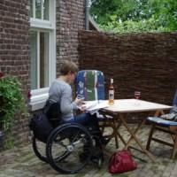 Vakantie Meerlo zorgvakanties terras aangepast appartement