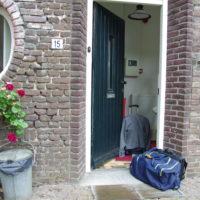 Vakantie Meerlo Onderwijzershuis ingang