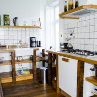 Vakantie Meerlo_Onderwijzershuis keuken