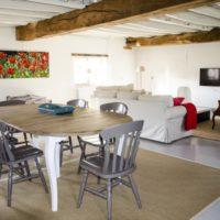 Vakantie Meerlo_kasteelke Poortgebouw woonkamer