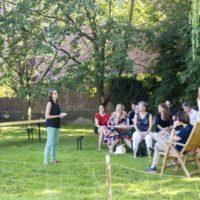 Vakantie Meerlo tuin Herenhuis 8 personen